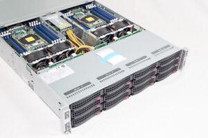 SUPERMICRO 64 CORE 2.1-3.0/256GB INTEL XEON E5-2620 V4 6028TP-HC0FR NODE SERVER