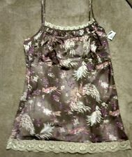 NWT DKNY  Multi Colored 100% Polyester Baby Doll/ Chemise/camisole Sz 12