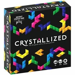 130012191 Bicycle Crystallized Board Game Black