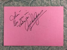 Cynthia Gouw - Star Trek V - The Final Frontier - Autographed 1989