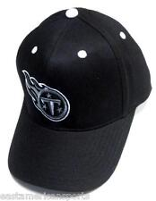 Tennessee Titans NFL Sideline Hat Cap Black Out Gray White Logo Adult OSFA