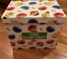 Kaws UNIQLO Sesame Street LIMITED Complete Box/Paper Bag