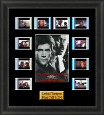 Lethal Weapon (1987) Film Cell Memorabilia FilmCells Movie Cell Presentation