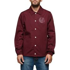 2017 NWT MENS ELEMENT MURRAY JACKET $70 M napa red lightweight nonrestrictive