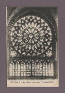 Paris - Notre Dame - Rosenmotiv Des Querschiff Süd (H1720)