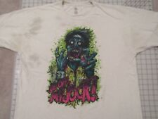 a1fbead8d Stained Worn In ADIDAS Get Off My Jock! T-SHIRT Mens XL Zombie