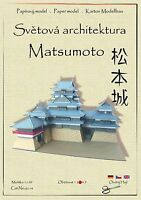 Japanese Castle Matsumoto world asian architecture paper model papercraft hejl