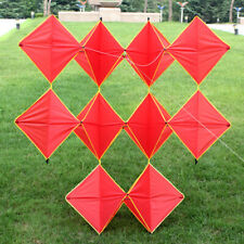 Professional 160cm Power Single Ten / Red Diamonds Kites With Flying Tools New