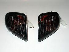 schwarze Blinker hinten Kawasaki ZZR 1100 D smoked rear signals