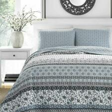 Stone Cottage 221598 Bexley Quilt Set, Full/Queen, Blue