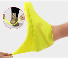 Reusable Shoe Covers Silicone Overshoes Water Rainproof Boot Protector Non-Slip