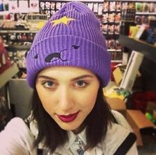 Adventure time lumpy space princess violet beanie chapeau bonnet mignon cosplay