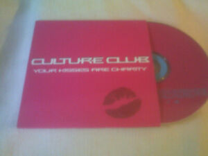 CULTURE CLUB - YOUR KISSES ARE CHARITY - UK PROMO CD SINGLE
