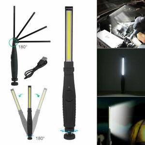 COB LED KFZ Arbeitsleuchte Akku Werkstattlampe Handlampe mit Magnet Stablampe DE