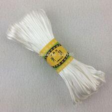 20M 2.5mm Nylon Braided Shamballa Kumihimo Macrame Thread Satin Cord Rope Sting