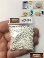 M00507-MIX MOREZMORE 100 Beads 6mm Animatable Stop Motion Puppet Eyeballs Eyes