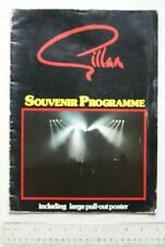 1982 Gillan Souvenir Programme