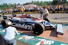 Brian Henton Toleman TG181 San Marino Grand Prix 1981 Photograph