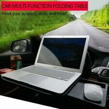 Car Laptop Table Retractable Work Desk Portable Food Cup Tray Holder Auto Stand