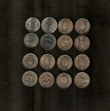 SET INDIA 2 RUPEES 1998-2011 COMMEMORATIVE UNC 8 DIFFERENT COIN COLLECTION ASIA