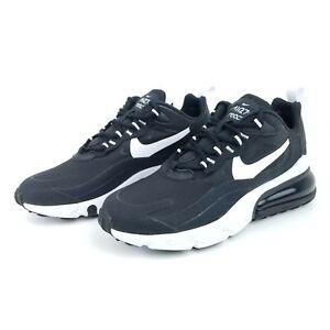 Nike Air Max 270 React Women's Running Shoes Black White AT6174 004 Sizes 6-10