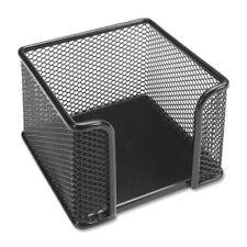 Lorell Mesh Memo Holder Steel 1 Each Black Llr84156