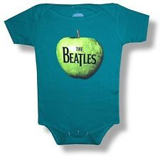 BEATLES Pop Rock Band APPLE LOGO Baby Infant Toddler CLOTHING BODYSUIT 24 Mos