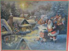 SunsOut ~ Bringing Joy and Happiness ~ 500 pc Puzzle Christmas Santa Claus ~ New