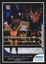 2016 Topps WWE Road to Wrestlemania #20 Daniel Bryan John Cena