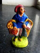 Santon en terre cuite peint Fouque - Bartoumiou 6 cm