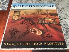 Queensryche Poster Signed Original Hear In The Now Frontier 2 Sided 24X24 Rare