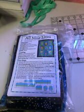 All Nine Lives Quilt Kit and Pattern