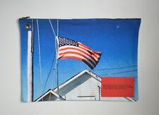 Calvin Klein 205W39NYC by Raf Simons USA flag zip pouch
