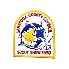 BSA Saratoga County Council Scout Show 1990 Patch
