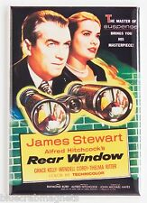 Rear Window FRIDGE MAGNET (2.5 x 3.5 inches) movie poster alfred hitchcock