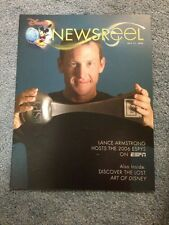 Disney Newsreel Lance Armstrong & Lost Art of Disney July 21, 2006 New