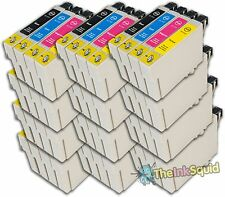 48 T0711-4/T0715 non-oem Cheetah Ink Cartridges fit Epson Stylus SX600FW SX610FW
