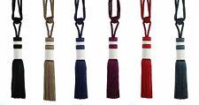 PAIR of Annabelle Design Modern Tassel Curtain Tiebacks Holdbacks 6 Colours
