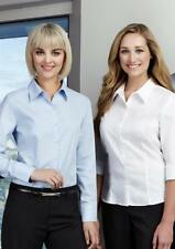 Career Machine Washable Solid 100% Cotton Tops & Blouses for Women