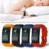 Waterproof Sports Heart Rate Monitor Fitness Activity Tracker Smart Watch Band