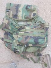Us Army Woodland Camo  Molle 2 Mainpack bag  military FREEPOST