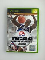 NCAA March Madness 2005 - Original Xbox Game - Tested