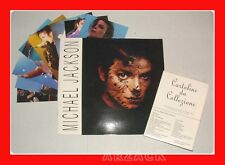 MICHAEL JACKSON Libro e Cartoline LO VECCHIO