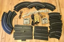 1960's Aurora Model Motoring HO Scale Slot Car Track (30 Pieces) And More Lot!