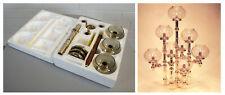 altes Nagel Rondo Combileuchter Set Kerzenleuchter Kerzenständer Vintage 60er J.