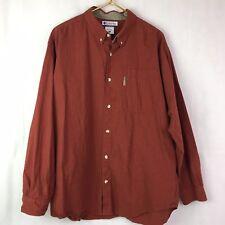 Columbia Plaid Button Down Shirt Men's Size XL Long Sleeve