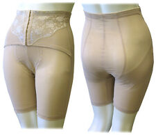 Waist Cincher Corest Girdle Long Leg Size 44 Waist 7xl Msrp $32 Nude