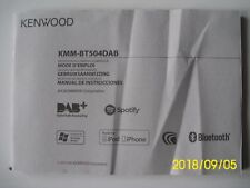 KKM - BT504DAB  Mode d'emploi / Gebruiksaanwijzing / Manual de Istrucciones