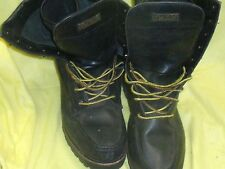 POLO by Ralph Lauren  WEXHAM black leather high ankle work boots   SZ 12D  Used