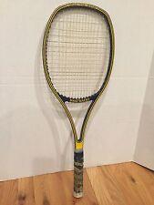 80s SNAUWAERT BORON DYNO Tennis Racket Impact Graphite Vintage Racquet Yellow L5